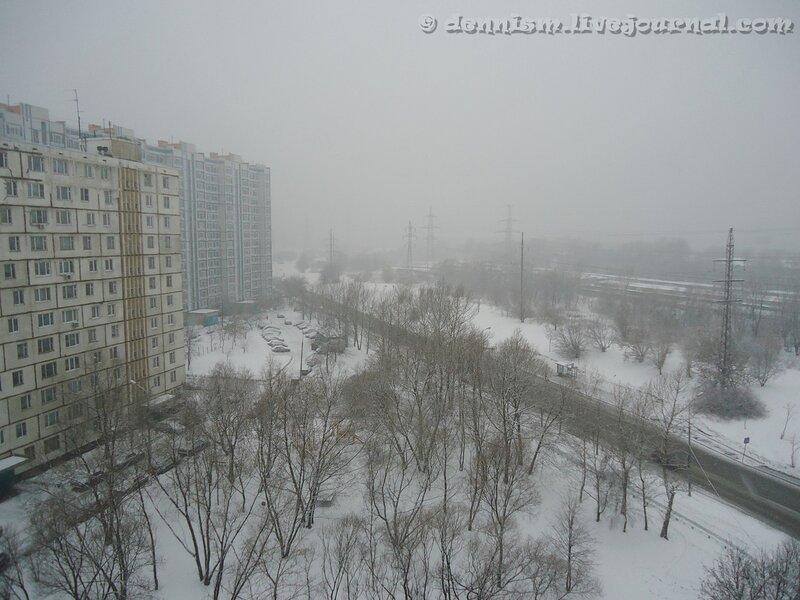 Москва, Краснополянская улица.
