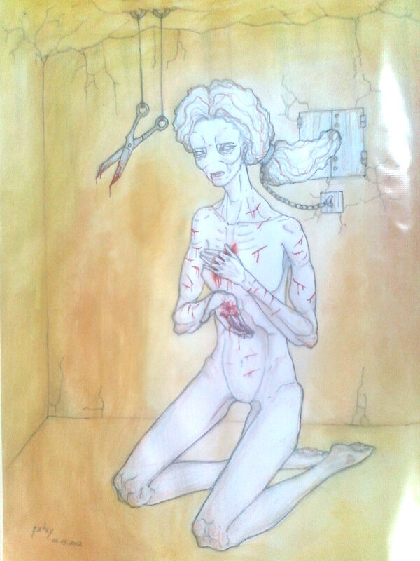 Рисунки девушки 18–ти лет