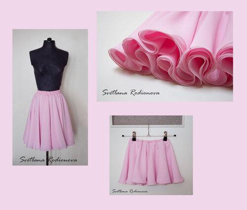 Как сшить юбку для себя и дочки 409