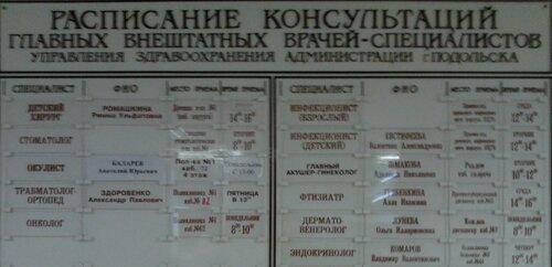 Краснополянская поликлиника в лобне расписание приема врачей