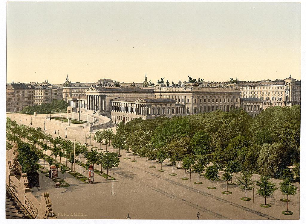 Вена в 1890 - 1900 годах. 0_6037e_a19520ab_orig