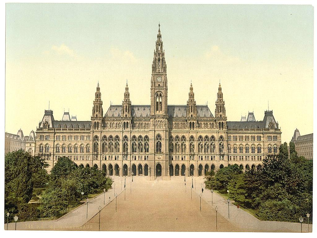 Вена в 1890 - 1900 годах. 0_60383_c909c568_orig