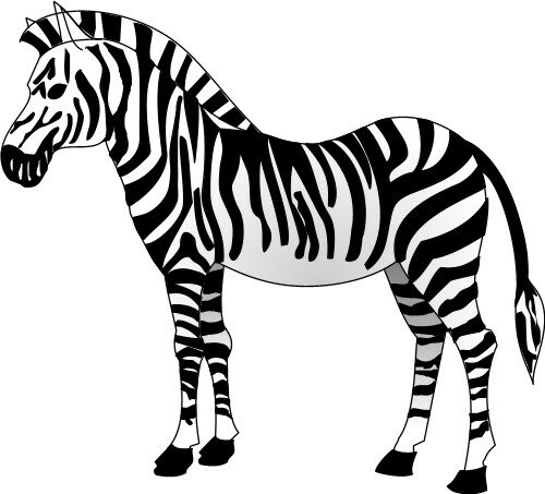 Слайд -текст о зебре -Сделайте звуковую схему слова.  Слайд из АЗБУКИ - схема слова зебра.
