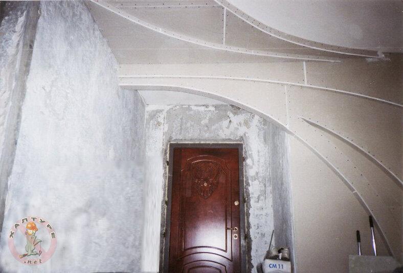 Потолки в прихожей из гипсокартона своими руками