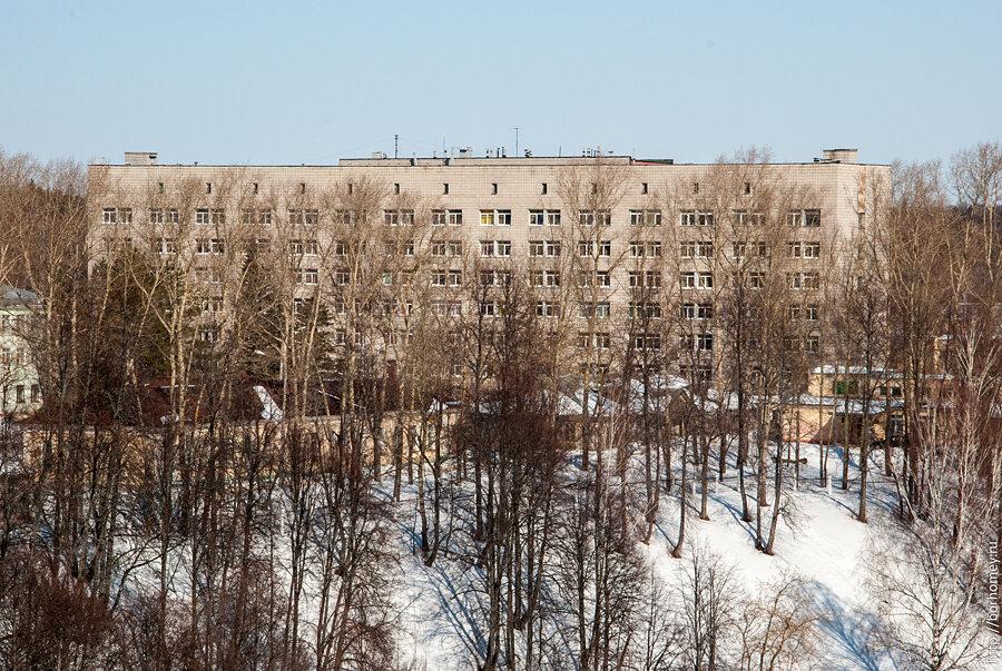 семиэтажка больничного городка маслиха