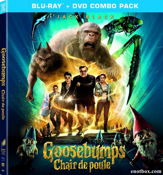 Ужастики / Goosebumps (2015/BDRip/HDRip/3D)