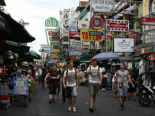 Бангкок – Кхао Сан Роад (Као Сан Роад) Khao San Road