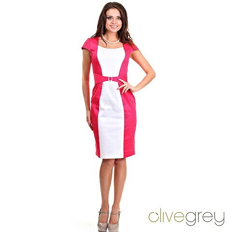 5e03704a22d Размеры 44-54 Элегантное двухцветное платье с красивыми линиями кроя очень  женственно. 97% хлопок