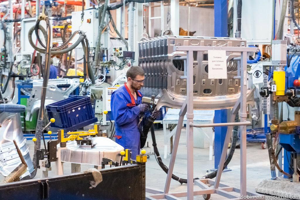 Завод Ford Sollers в г. Всеволжск