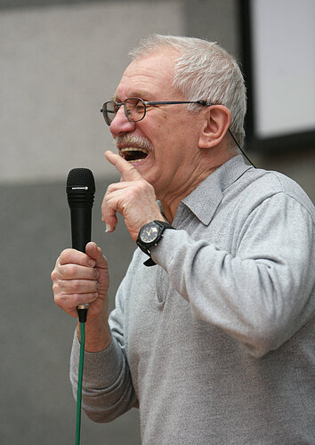Кинорежиссёр Александр Митта.