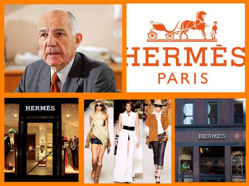 Betrand Puech глава Hermes International