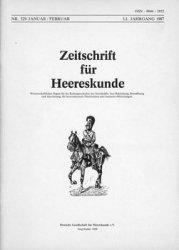 Zeitschrift fur Heereskunde №334