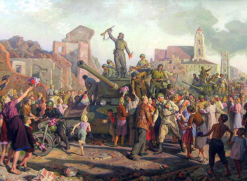Минск 3-го июля 1944 года. Валентин Волков.