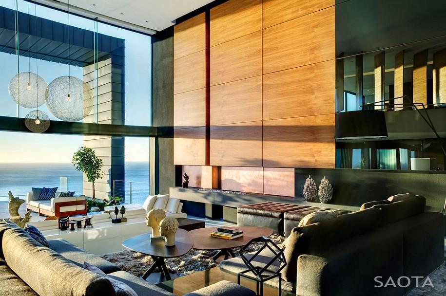 Трехэтажный особняк с видом на Атлантический океан от SAOTA
