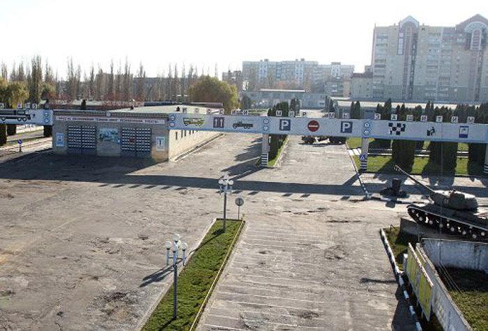 Общий вид военного городка, фото из архива В/Ч