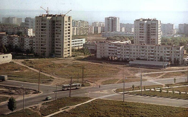 Троллейбус №7, 1981, фото В.Собровина