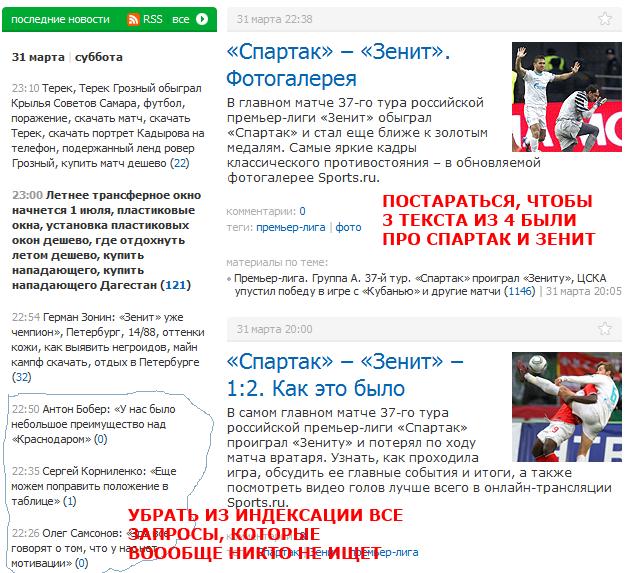 1 апреля sports.ru представляет новые варианты дизайна сайта