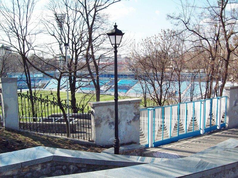 Восточные ворота стадиона Динамо