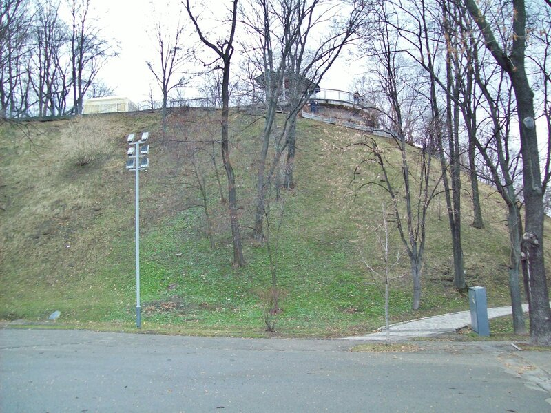 Площадка обозрения Владимирской горки