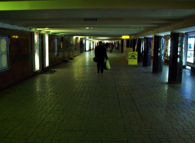 подземный переход на Майдане