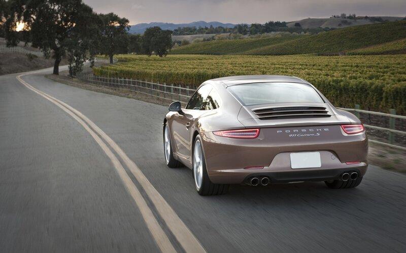 Обои - Porsche 911 Carrera S, красив…