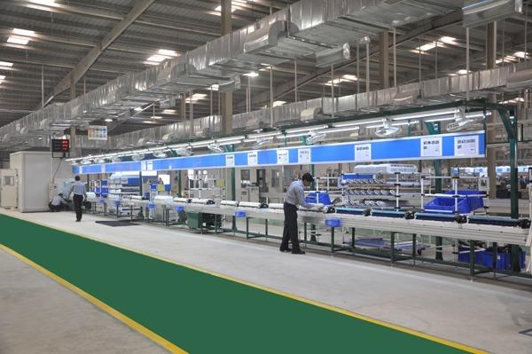 Midea завод в Китае, бытовая техника