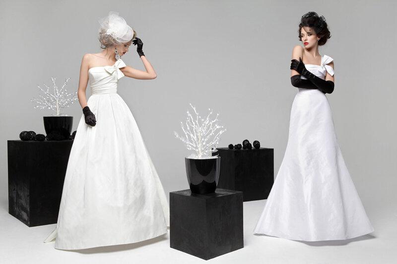 اجدد تشكيله فساتين العرايس 2012
