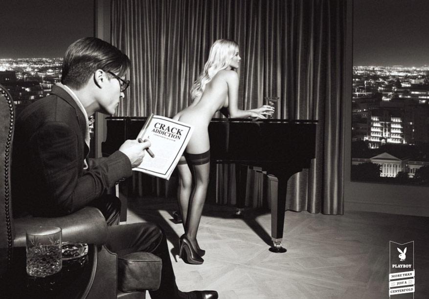 Playboy - больше, чем центральный разворот - наркотическая зависимость / увлеченность трещинами / Crack Addiction