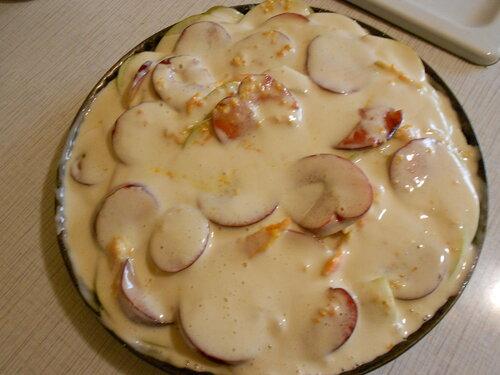 Слойка с грибами и пирог