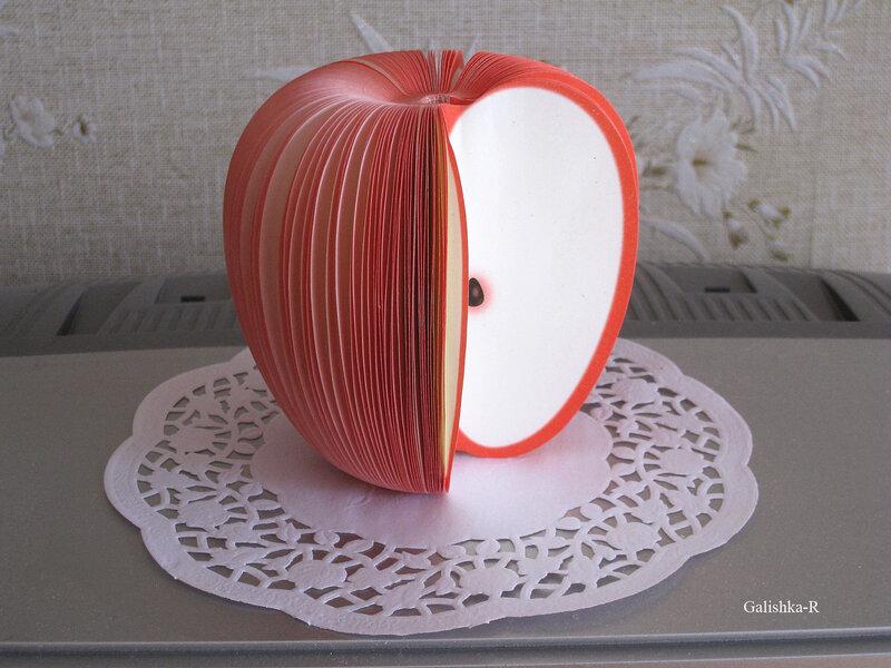 Поделки в виде яблока своими руками