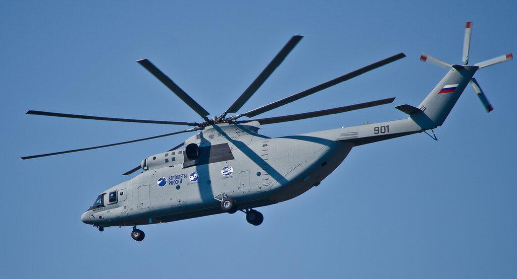 Top 5 helicópteros russos