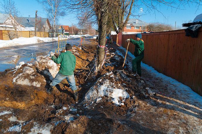 Звенигород утопает в грязи