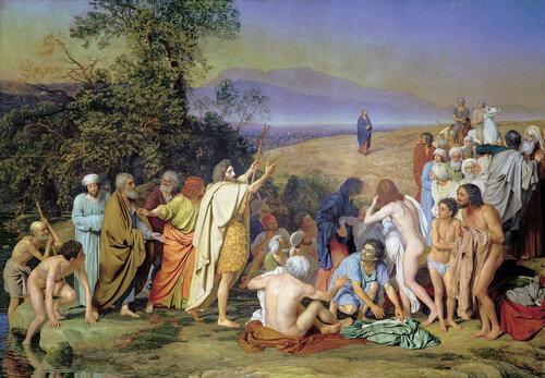 Александр Андреевич Иванов. Явление Христа народу. 1837-1857
