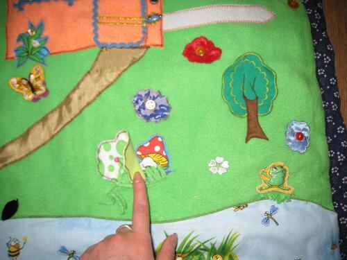 Развивающие игрушки своими руками... большой развивающий коврик