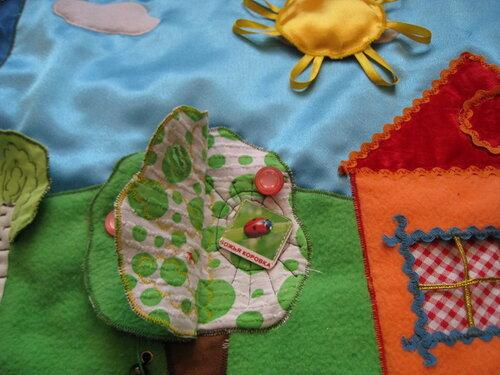 Игровой развивающий коврик... хенд-мейд идеи