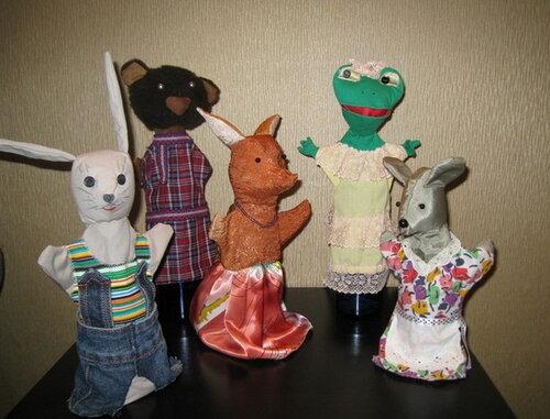 Развивающие игрушки своими руками... кукольный театр