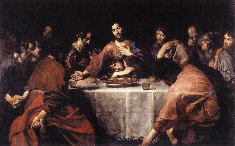 Иуда в картине тайная вечерия порно рассказы