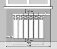 Существует несколько известных методов расчета мощности для радиаторов отопления.  Для процедуры расчета необходимо...