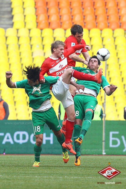 «Спартак» vs «Рубин» 2:0 Премьер-лига 2011-2012 (Фото)