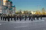 Военный оркестр на Соборной площади Омска