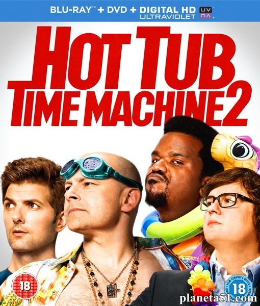 Машина времени в джакузи 2 / Hot Tub Time Machine 2 [THEATRICAL] (2015/BDRip/HDRip)
