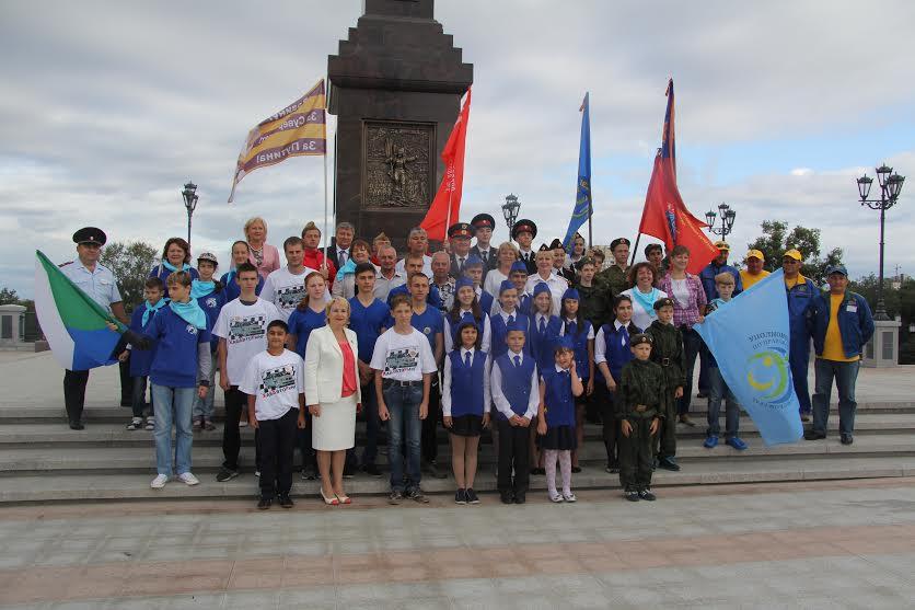 ВХабаровске начался детский автопробег