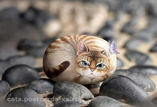 Коты. Художник Генри Ли