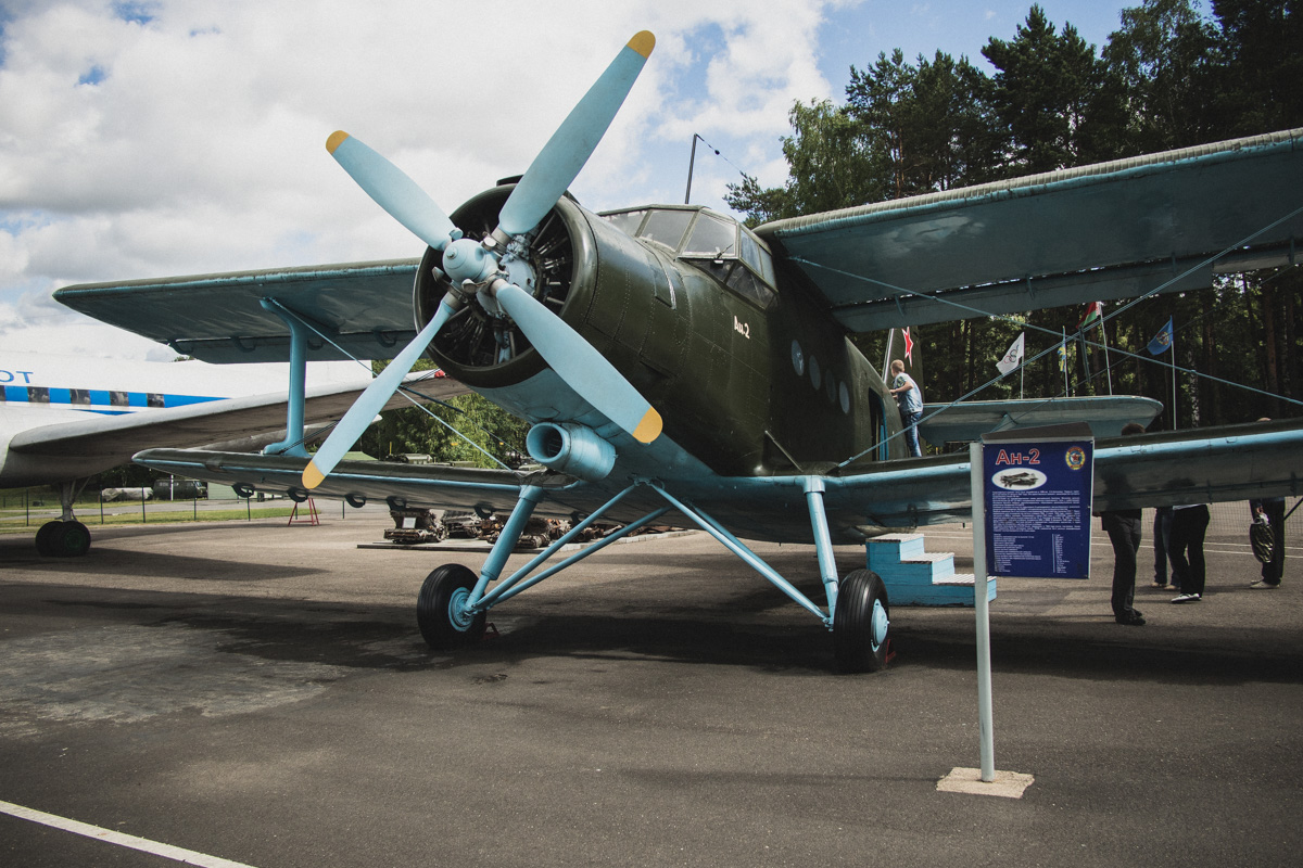 Легкий транспортный самолет Ан-2. Является единственным в мире самолетом, выпускавшимся больше 60 ле