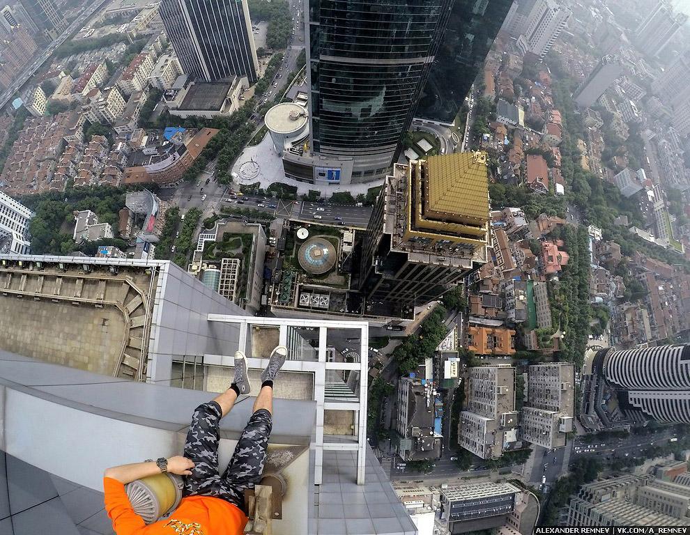 Высотный Шанхай в объективе Александра Ремнева (Аlexandr Remnev)
