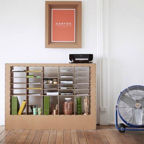 Картонная мебель сервант