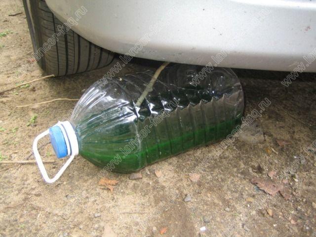 замена охлаждающей жидкости lancer