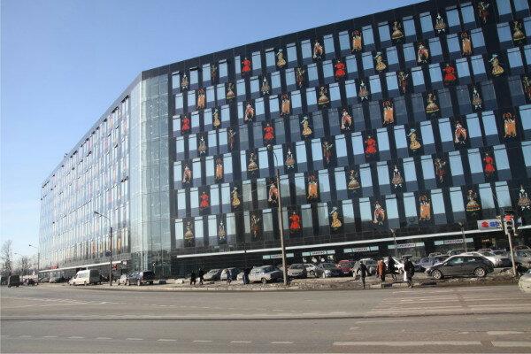 Питерский офис Яндекса в бизнес-центре