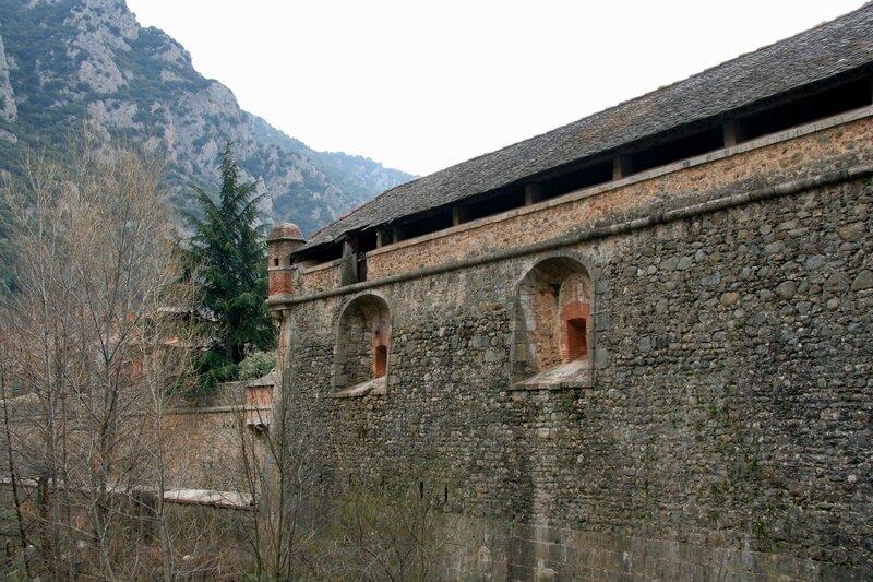 Крепостная стена, Вильфранш-де-Конфлан