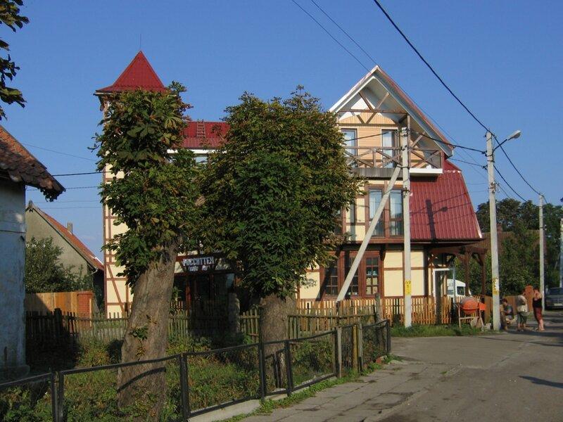 Поселок Рыбачий на Куршской косе